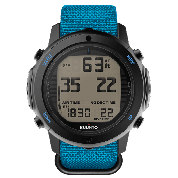 D6I NOVO ZULU INSTRUCTOR BLUE Suunto Компьютер